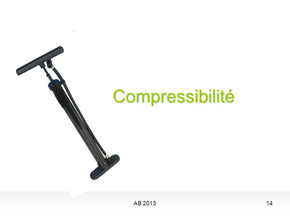 AB 201314 Compressibilité Compressibilité