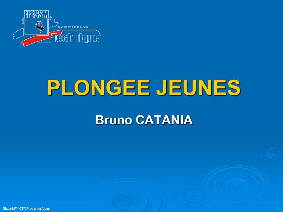 Stage MF1 CTR Provence Alpes PLONGEE JEUNES Bruno CATANIA