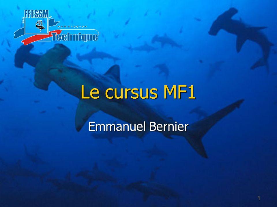 1 Le cursus MF1 Emmanuel Bernier