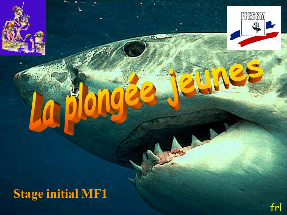 62 Références documents Stage initial MF1 – E Bernier – CTR Provence Guide pratique pour la plongée enfants – P Enjalbert – Enjalbert (2007) La plongée enfants – F.