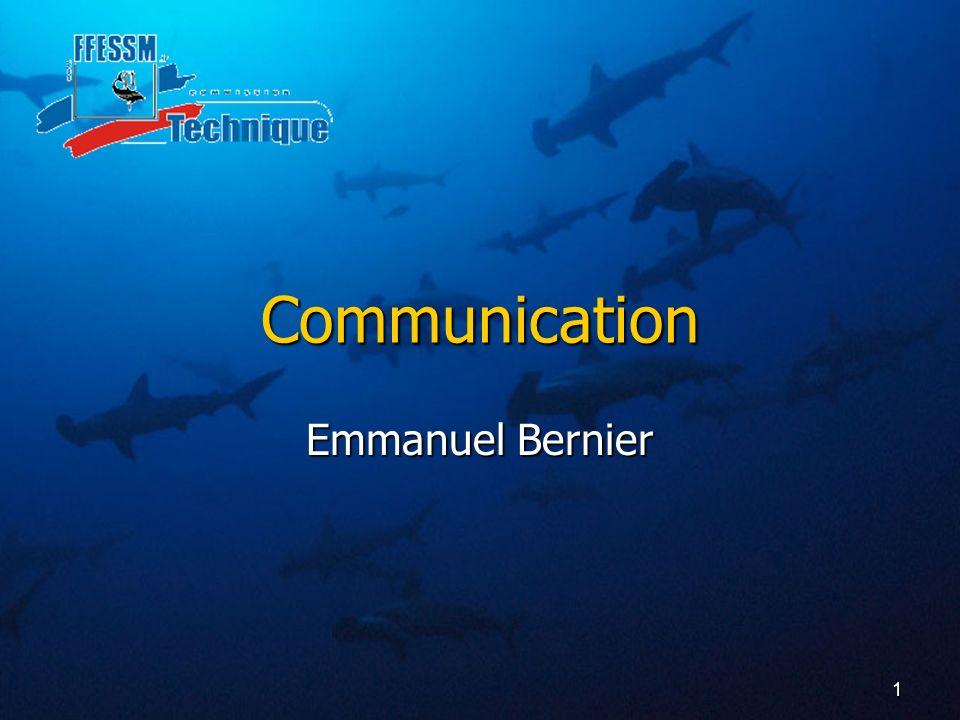 1 Communication Emmanuel Bernier