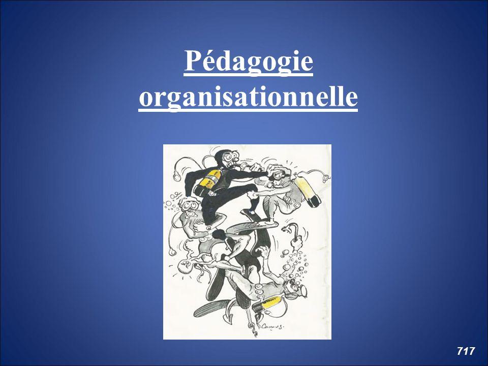 Pédagogie organisationnelle 717