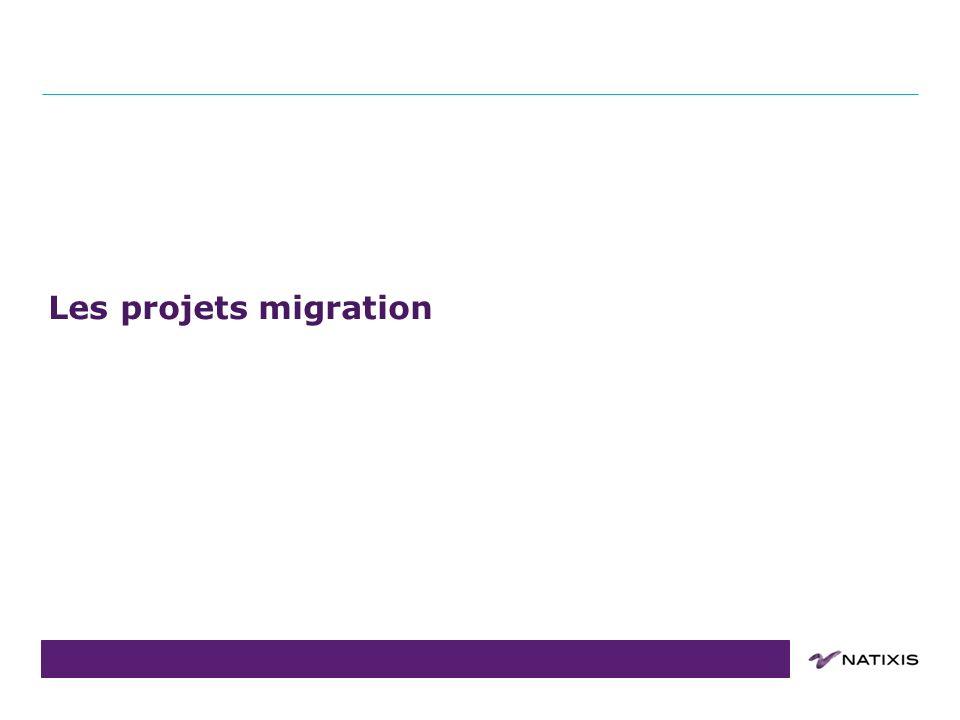 COPIL du 31/08/2011 Les projets migration