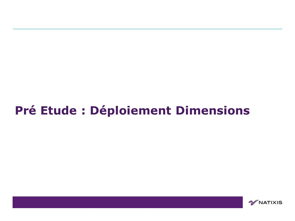 COPIL du 31/08/2011 Projets : Dimensions 12 Macro Planning : 20