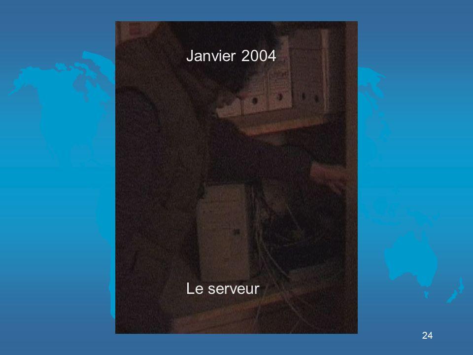24 Le serveur Janvier 2004