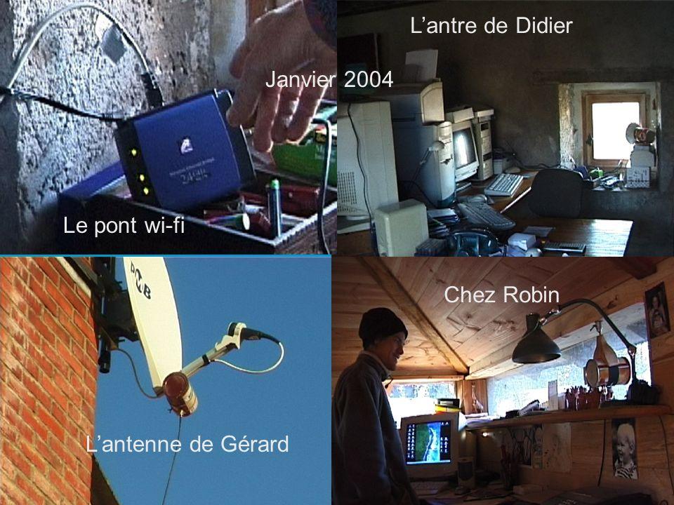 25 Chez Robin Lantre de Didier Lantenne de Gérard Le pont wi-fi Janvier 2004