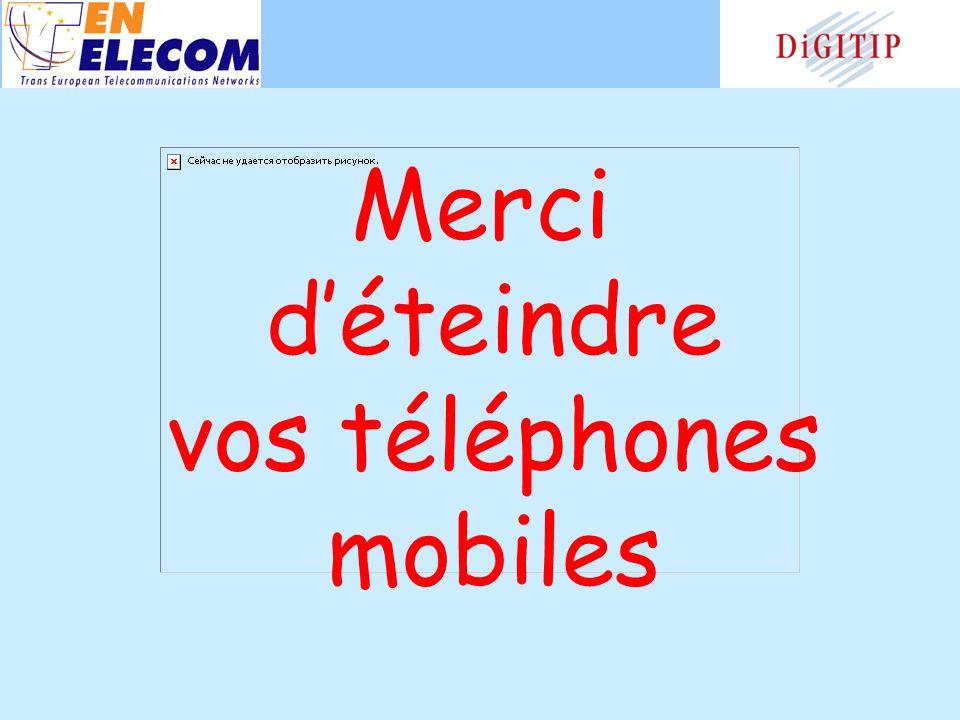 Merci déteindre vos téléphones mobiles