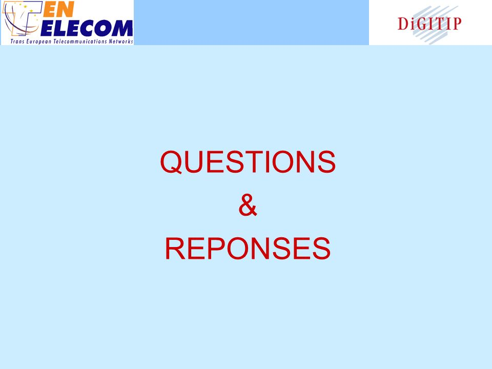 QUESTIONS & REPONSES