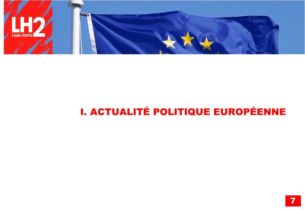 7 I. ACTUALITÉ POLITIQUE EUROPÉENNE