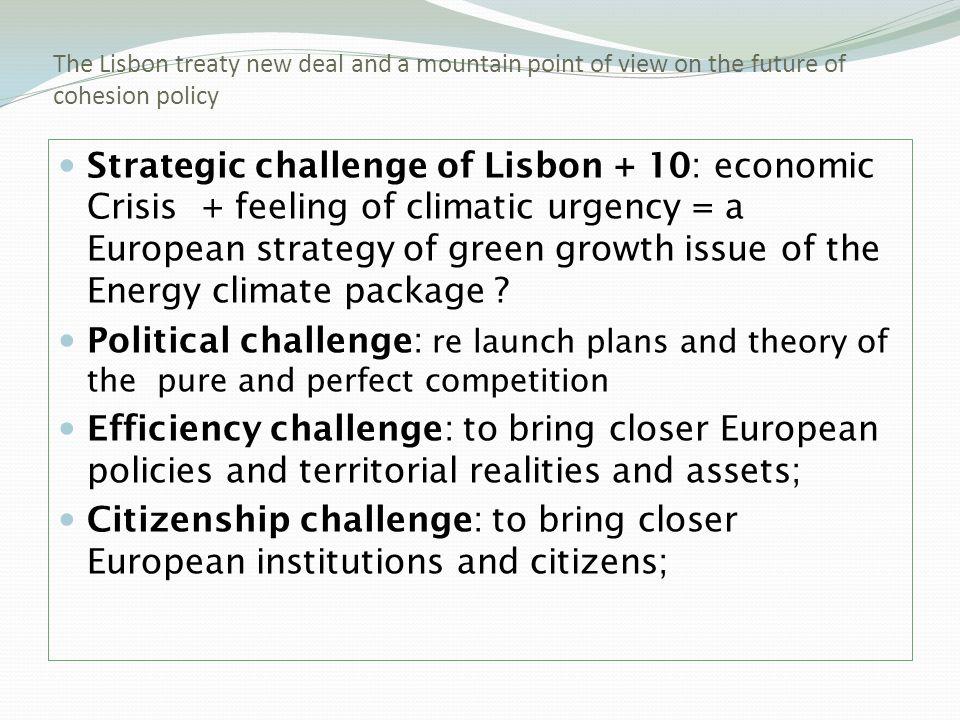 Lisbon Treaty is a clear progress (cf.