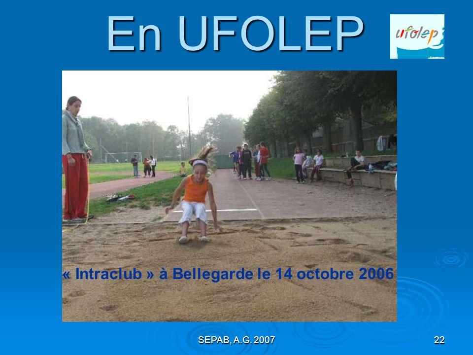 SEPAB, A.G. 200721 Courses hors stade : Tous les ans, on prend les mêmes et on recommence : Jean POUSSINEAU, Pascal MARTIN et Maurice BEAUVALLET.