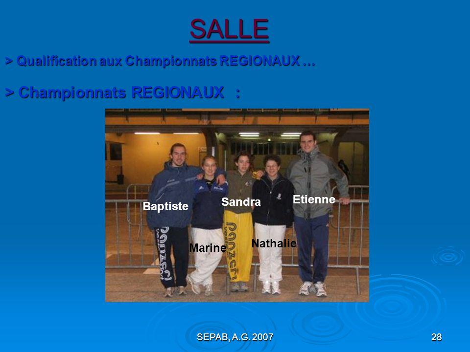SEPAB, A.G. 200727 SALLE :