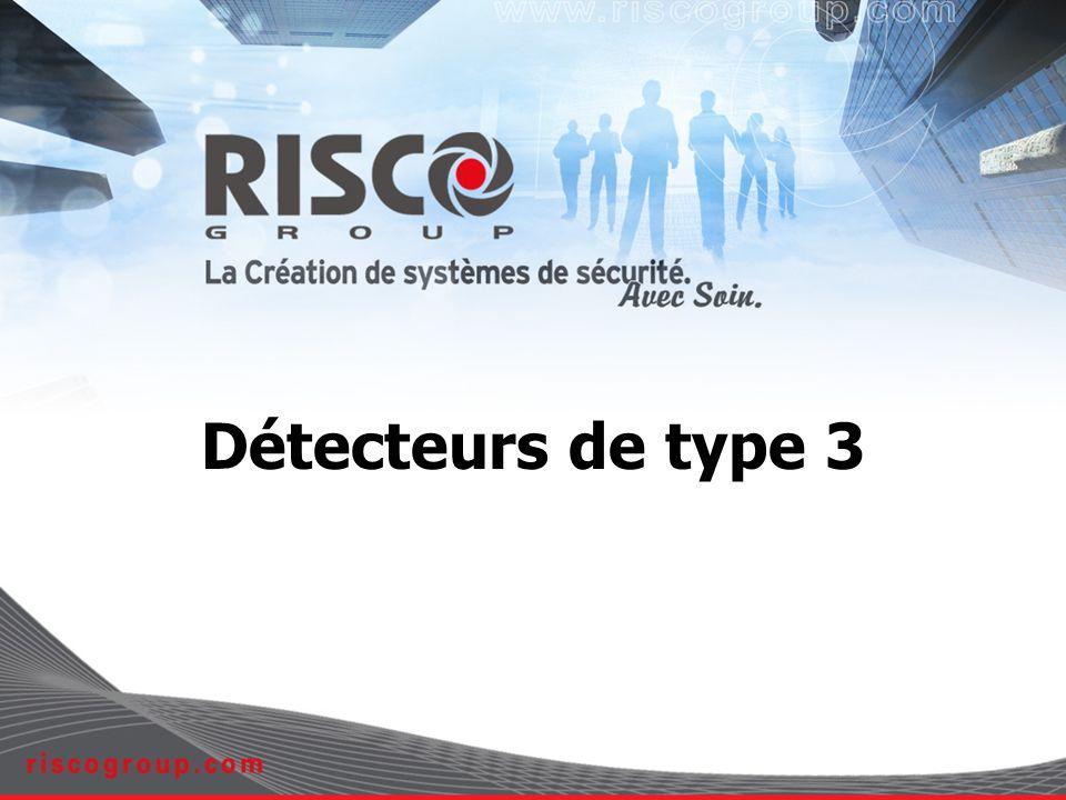 2 Les normes EN50131-1, Niveau 3, Classe environnementale II Ce sont les exigences du système, sans spécification technique pour les performances de masquage ou des détecteurs PD6662, Niveau 3 Spécifie comment implanter la norme EN50131-1 en Grande- Bretagne TS50131-2-2, Niveau 3 pour les détecteurs IRP TS50131-2-4, Niveau 3 pour les détecteurs IRP & HF combinés Spécifications techniques pour les performances des détecteurs En projet : toutefois, le formulaire 185 du BSIA guide les fabricants quant à l implantation Dans certains cas, plus stricte que la norme EN50131-1: Tamper arrière Masquage