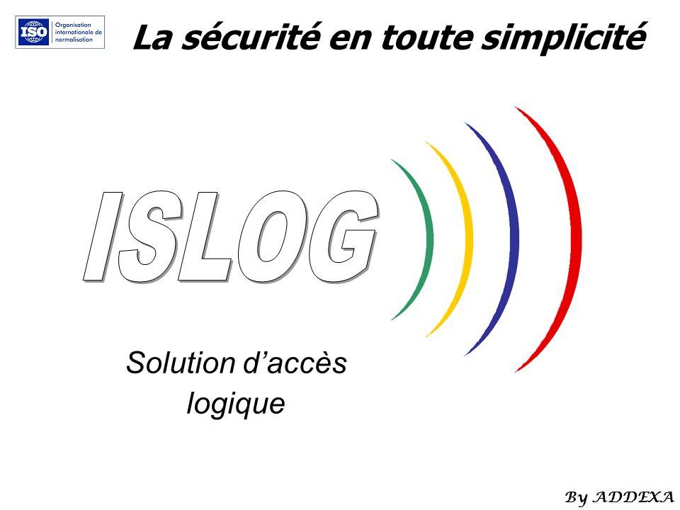 La sécurité en toute simplicité Solution daccès logique By ADDEXA
