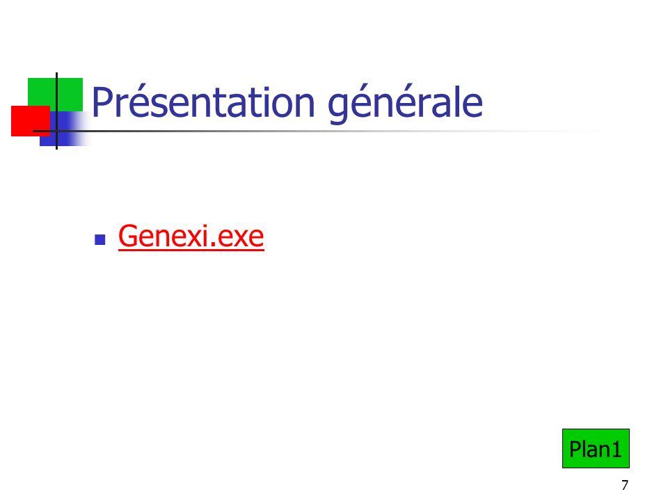 7 Présentation générale Genexi.exe Plan1
