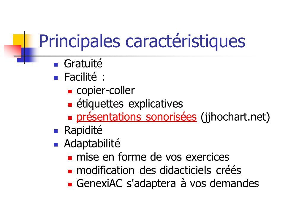 Gratuité Facilité : copier-coller étiquettes explicatives présentations sonorisées (jjhochart.net) présentations sonorisées Rapidité Adaptabilité mise
