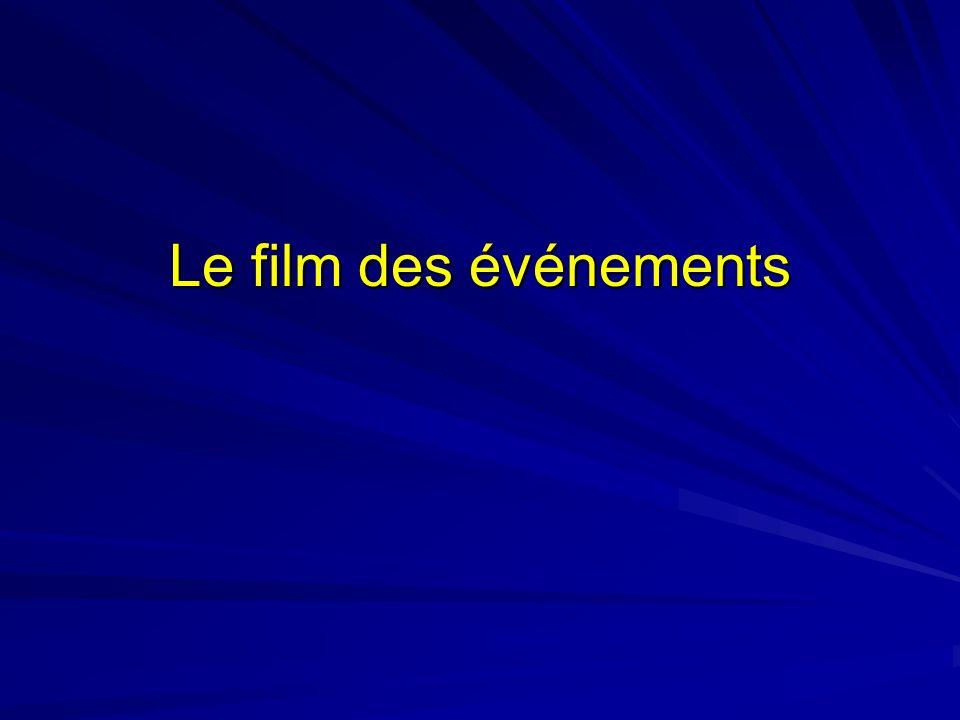 Le film des événements