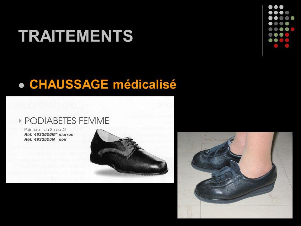 TRAITEMENTS CHAUSSAGE médicalisé