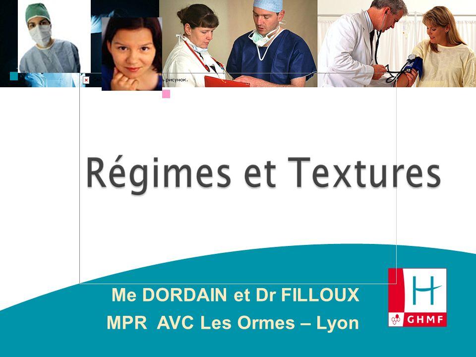 Me DORDAIN et Dr FILLOUX MPR AVC Les Ormes – Lyon