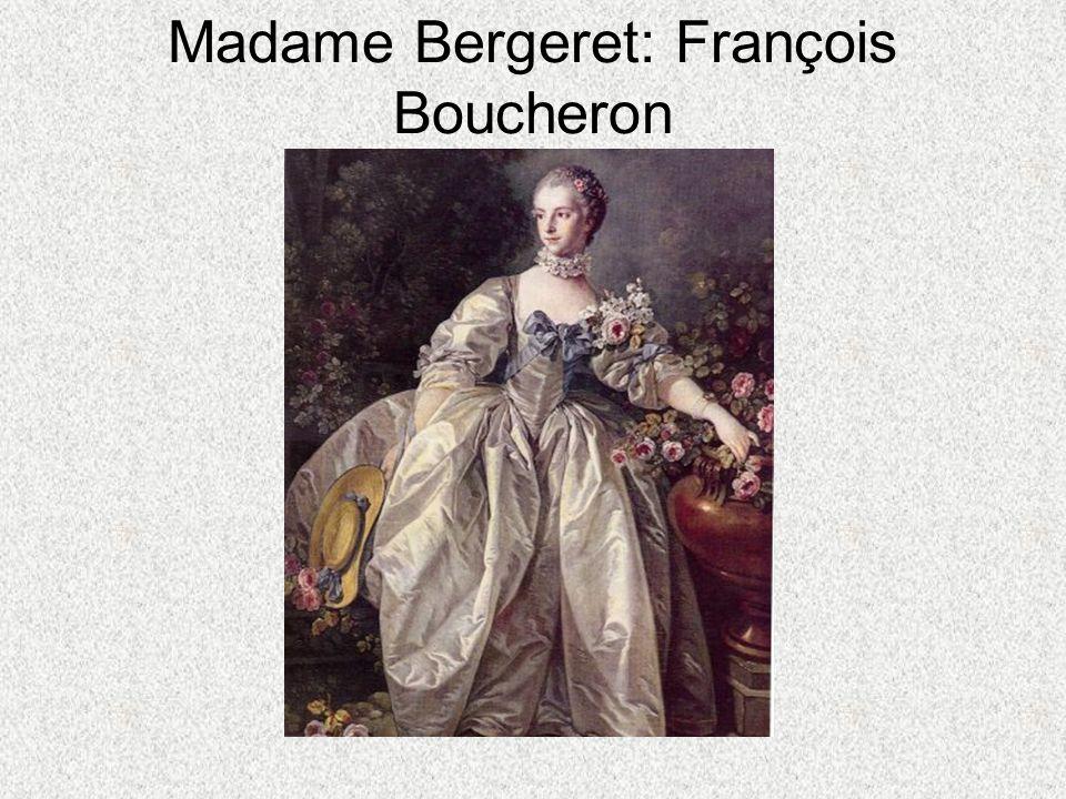 Madame Bergeret: François Boucheron