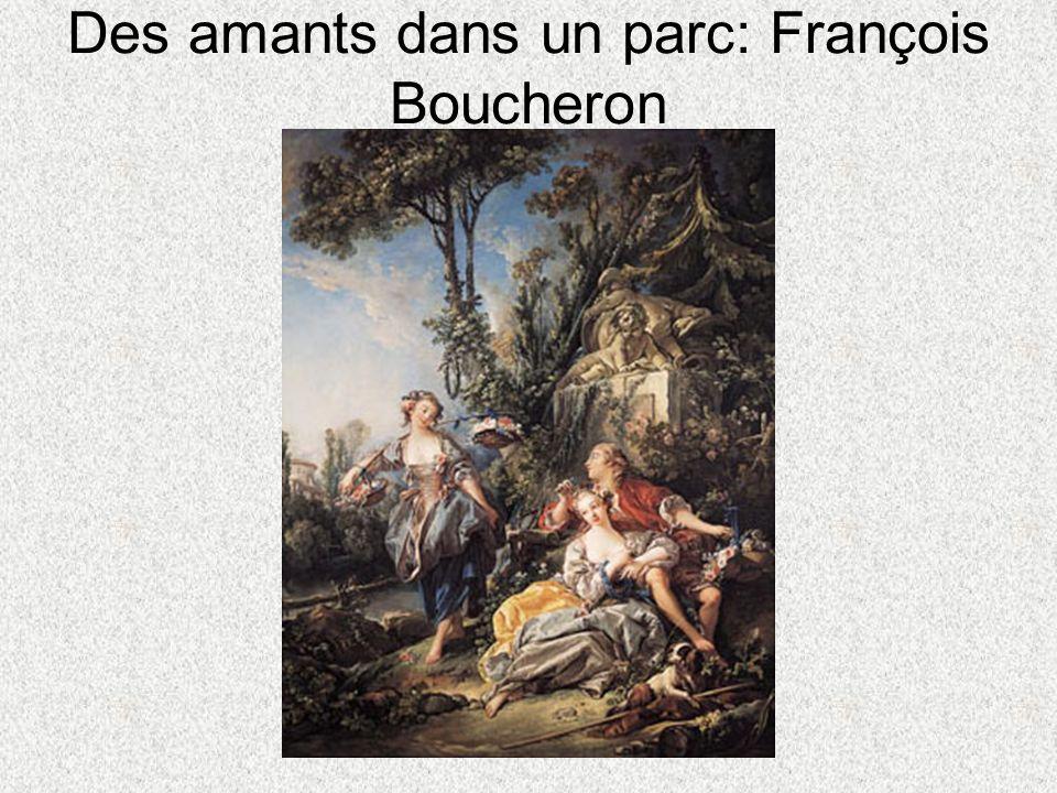 Des amants dans un parc: François Boucheron