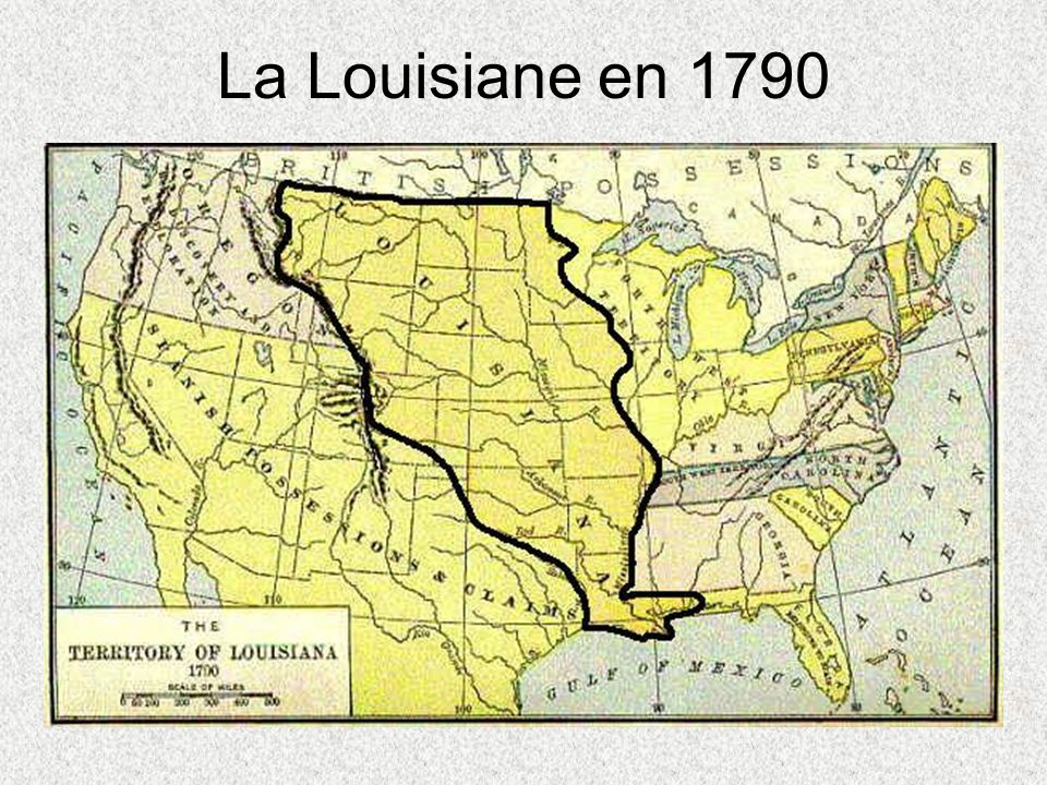 La Louisiane en 1790