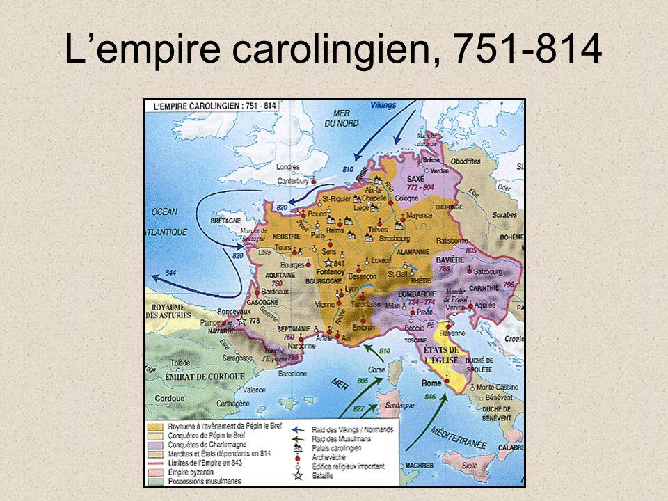 Lempire carolingien, 751-814