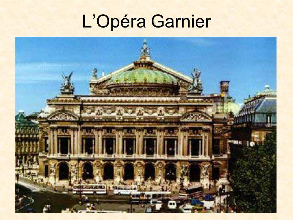 LOpéra Garnier