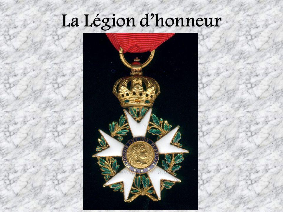 La Légion dhonneur