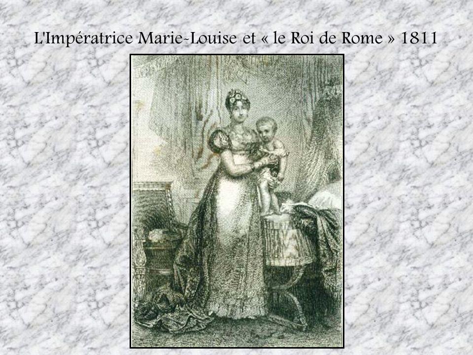 L'Impératrice Marie-Louise et « le Roi de Rome » 1811