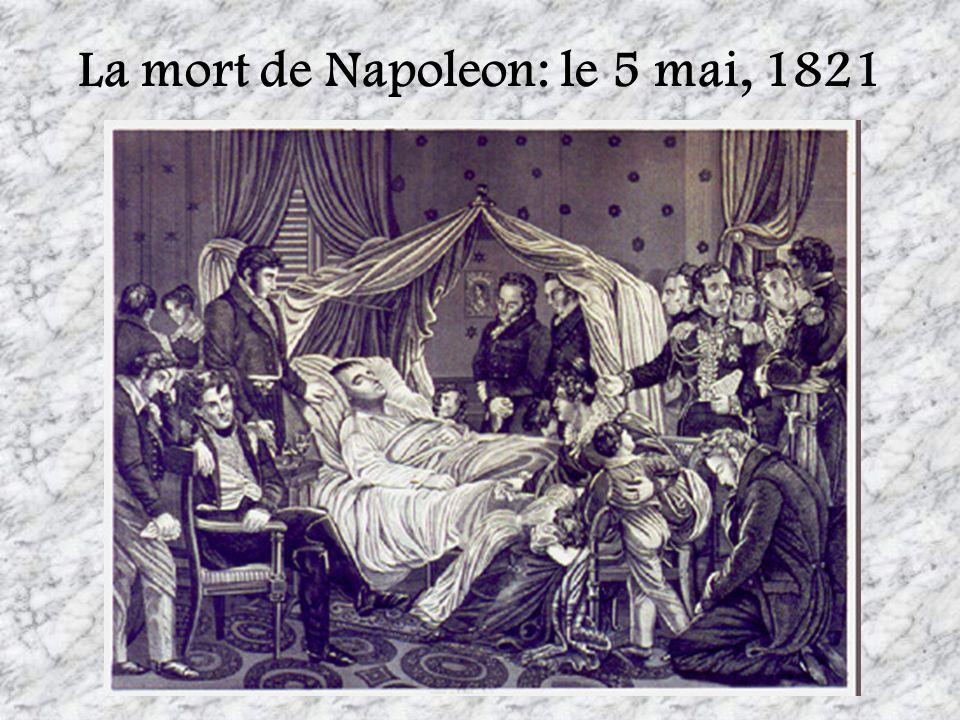 La mort de Napoleon: le 5 mai, 1821