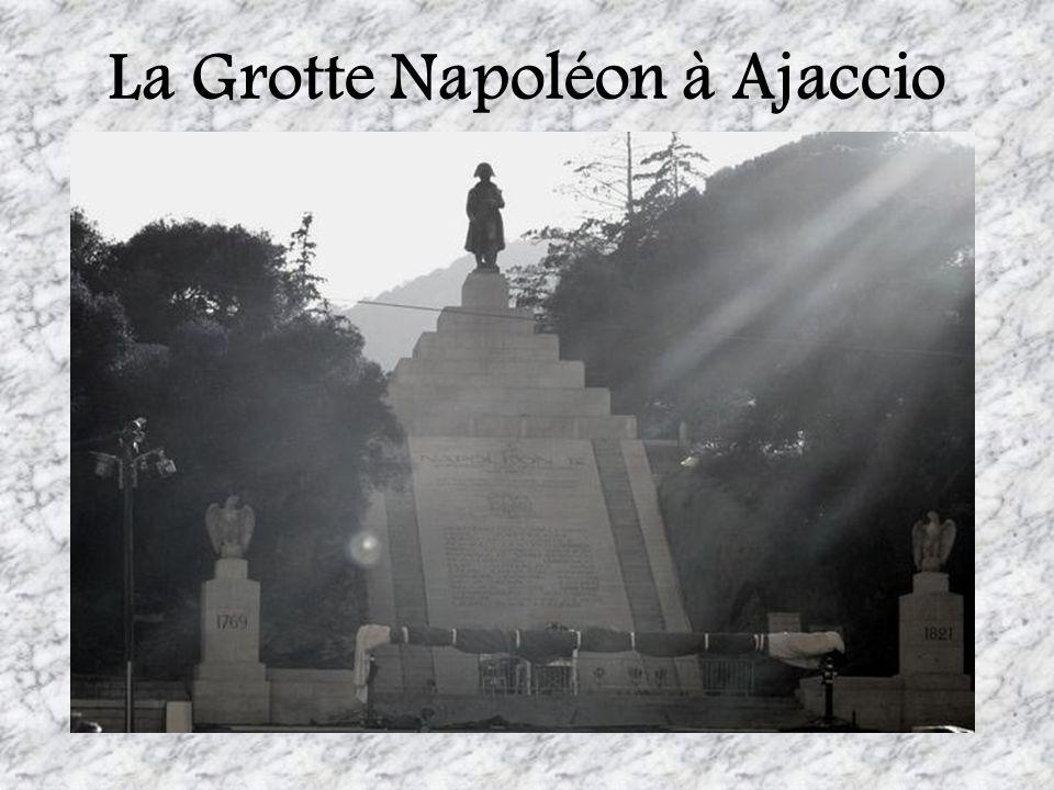 La Grotte Napoléon à Ajaccio