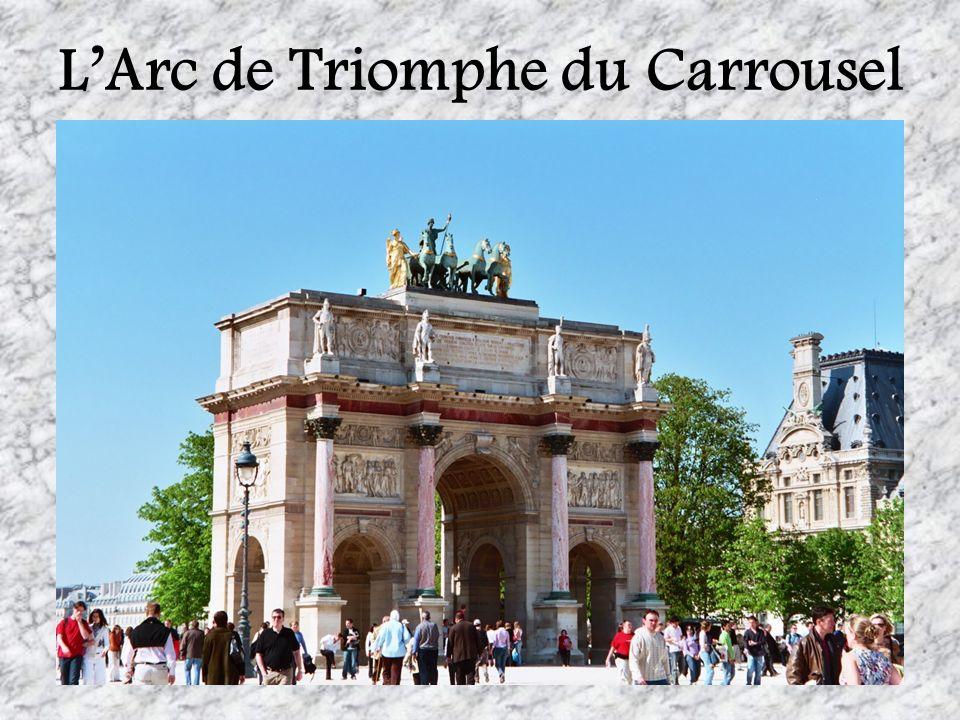 LArc de Triomphe du Carrousel
