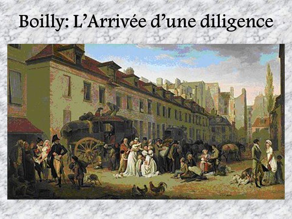 Boilly: LArrivée dune diligence