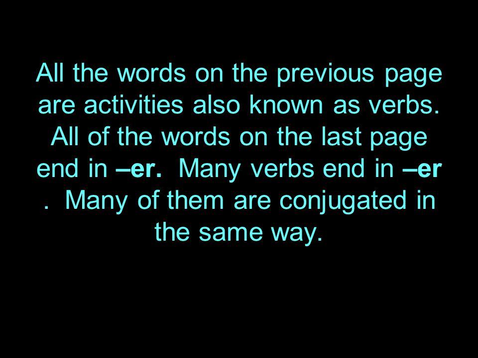 Parler – means to speak or talk.