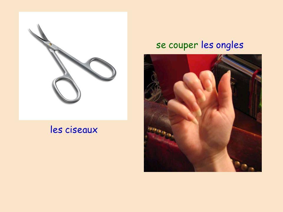 les ciseaux se couper les ongles