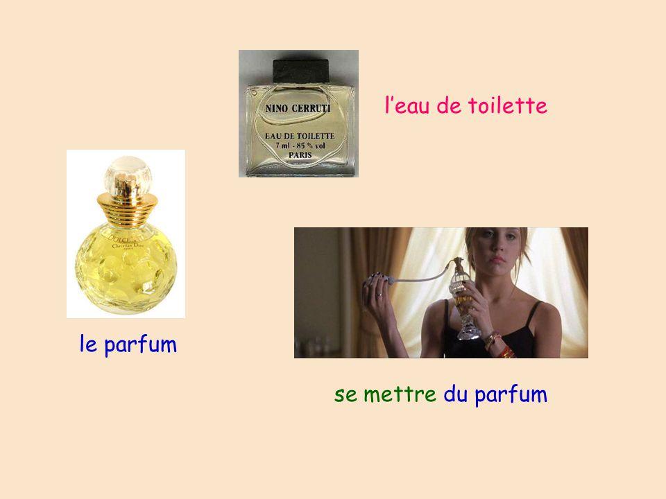 le parfum leau de toilette se mettre du parfum