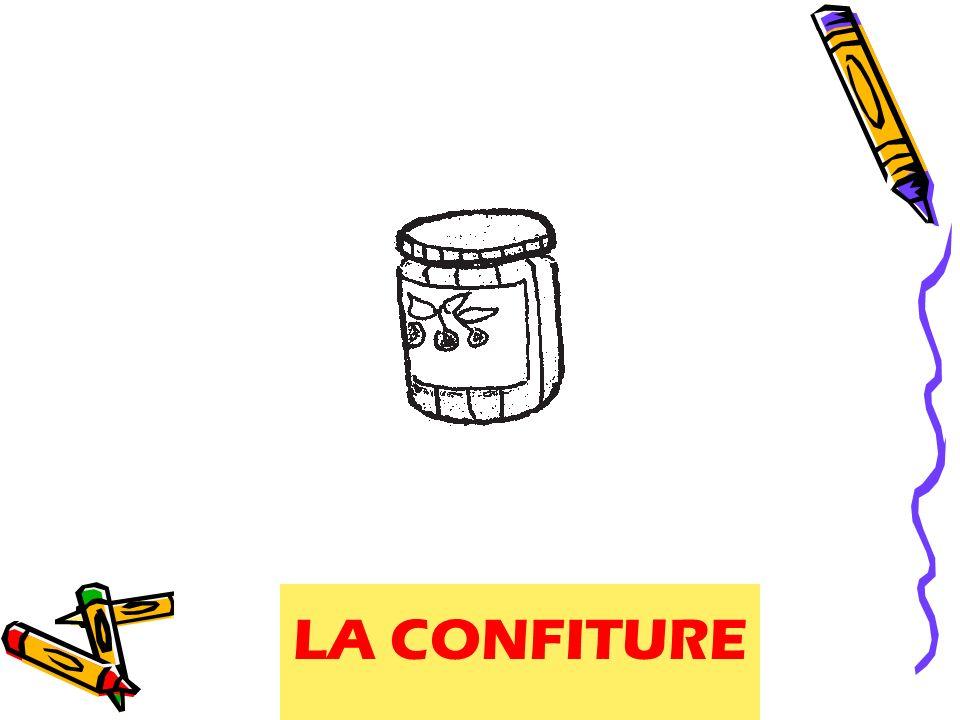 LA CONFITURE