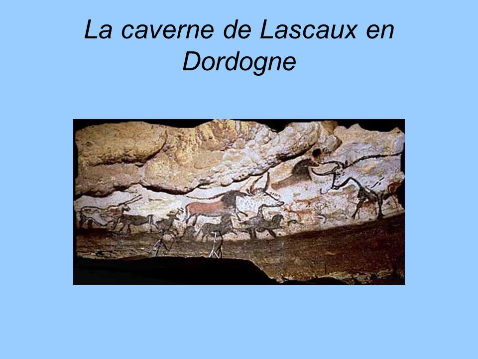 La caverne de Lascaux en Dordogne