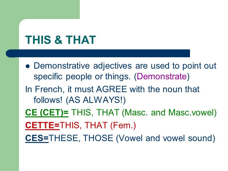 Yours, theirs & ours…… Our=NOTRE, NOTRE, NOS (M, F, Pl) 1.Notre livre est ici, mais nos stylos ne sont pas ici.