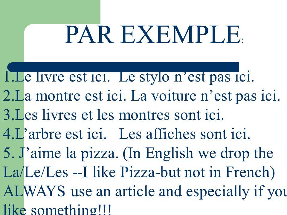 LETS PRACTICE.1.Je ___________(parler) anglais. Et toi.