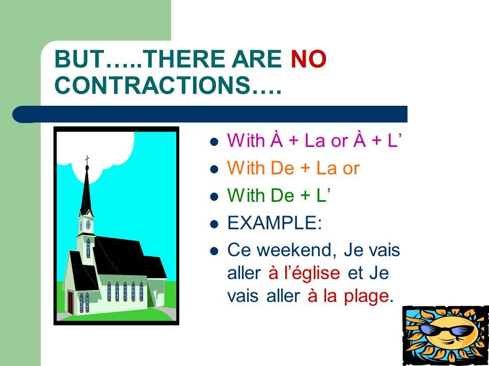 Time to practice.1. Je ___________ mon vélo.(vendre) Translate: 2.