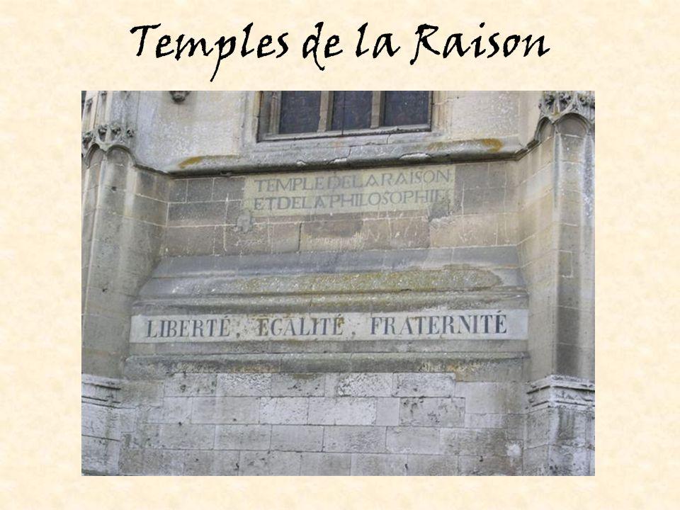 Temples de la Raison