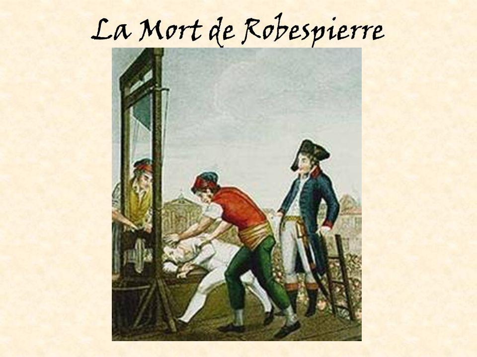 La Mort de Robespierre