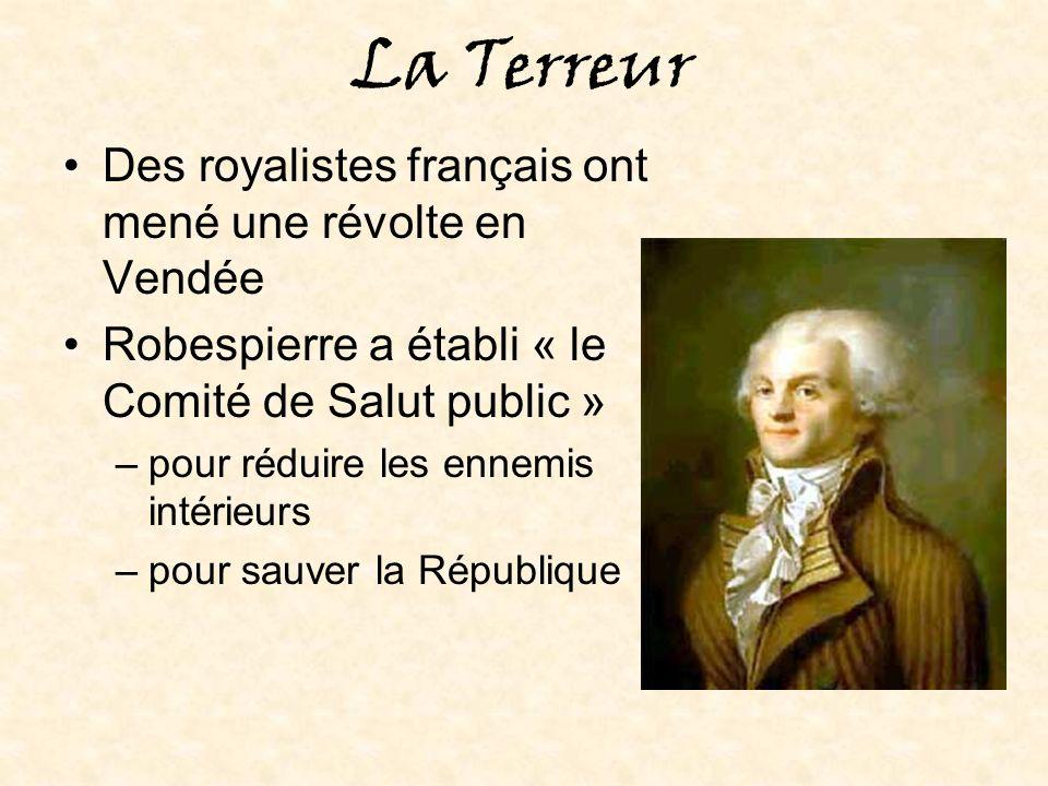Les changements apportés par la Révolution: le calendrier Il y avait 10 heures dans un jour Les 5-6 jours restants dans lannée étaient des « jour libres ».