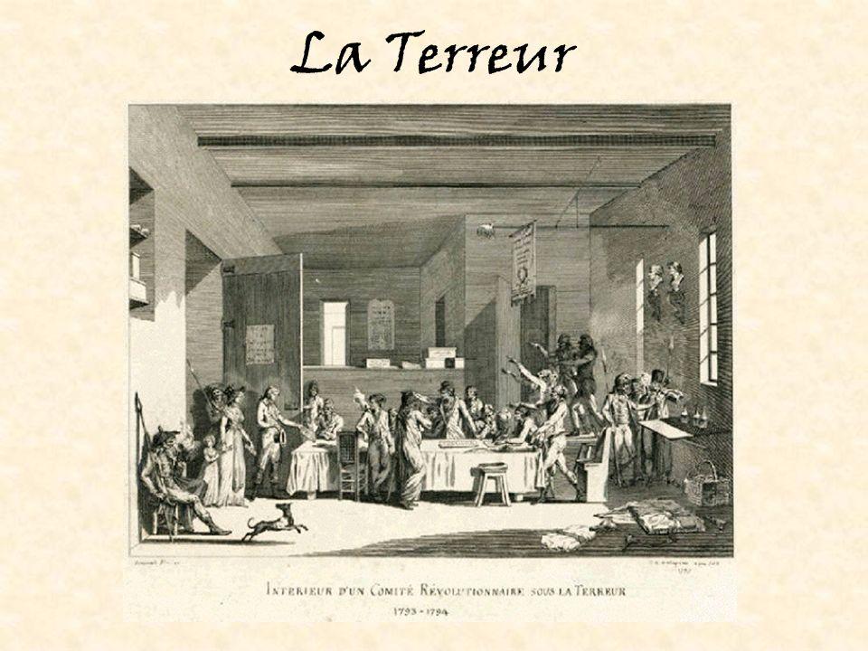 Les changements apportés par la Révolution: Un effort dégalité totale Dans un effort dabolir toute distinction entre les Français: –Les termes monsieur, madame, mademoiselle ont été abolis –Les titres (comte, baron, etc.) étaient aussi illégaux.
