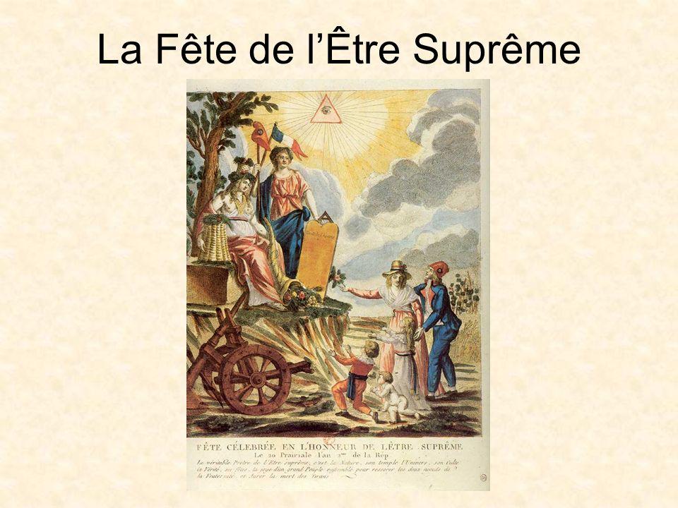 La Fête de lÊtre Suprême