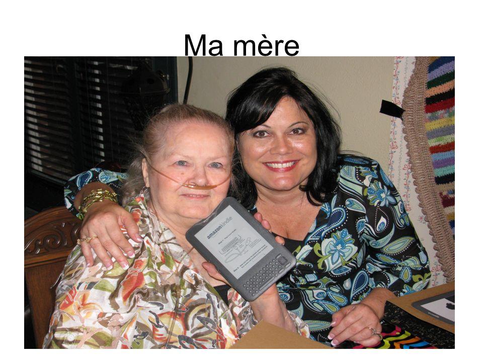1.Elle est ma mère et elle sappelle Dot. 2. Elle a 70 ans.