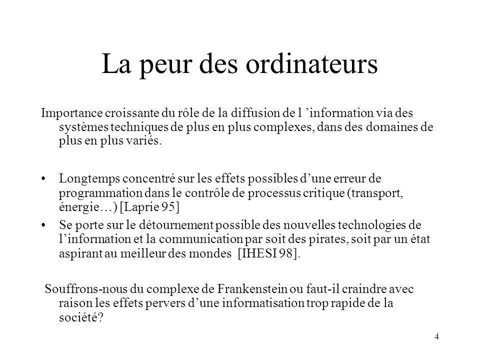 25 CADRE JURIDIQUE (4) Loi relatives à lusage de la cryptographie (loi du 19/03/99) En France l usage de moyens de chiffrement est limité: Utilisation libre concernant lauthentification et lintégrité et des moyens de chiffrement à clefs de moins de 128 bits (ceux ayant des clefs de plus de 40 bits doivent être déclarés) Déclaration de commercialisation et dimportation pour les produits de chiffrement ayant des clefs comprises entre 40 et 128 bits Demande dautorisation de distribution et d utilisation pour les produits de chiffrement ayant des clefs de longueur supérieure à 128 bits Demande d autorisation pour l exportation de produit de chiffrement Auprès du Service Central de Sécurité des systèmes informatiques (SCSSI)