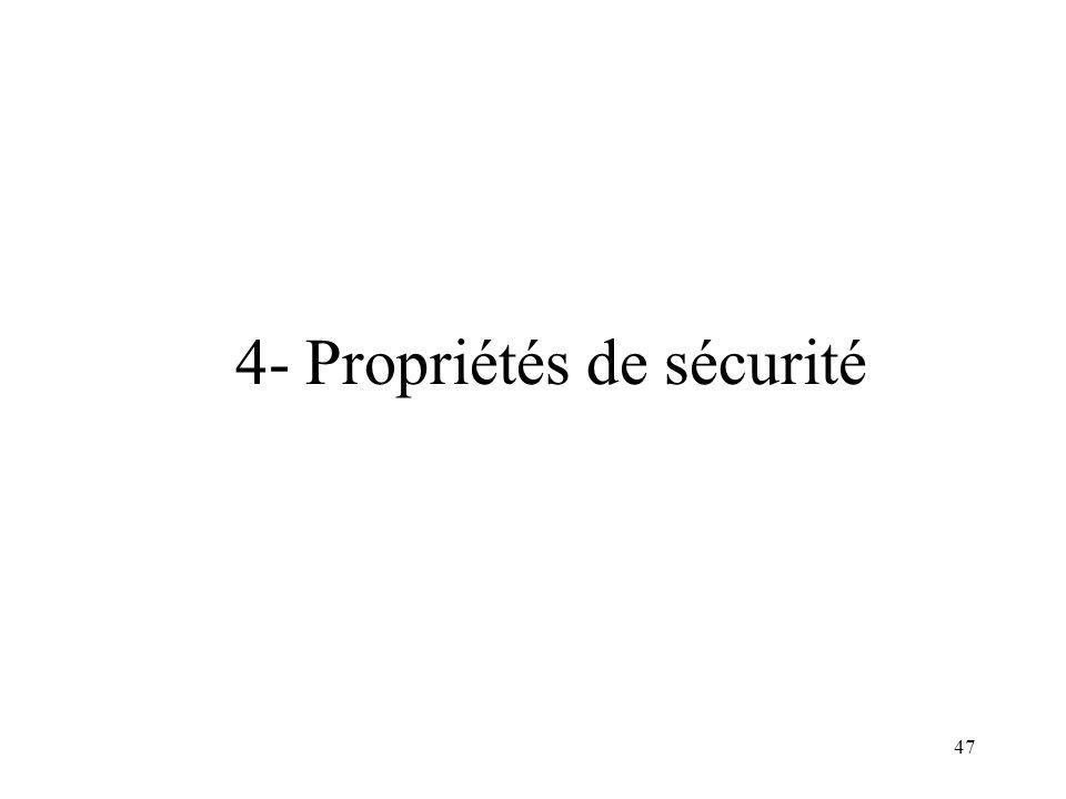47 4- Propriétés de sécurité
